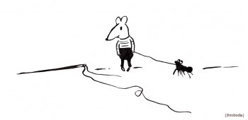Svoboda_Tzekova_Illustration_mouse_needle_ant_web